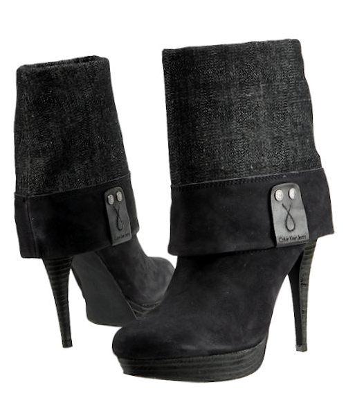 stiefeletten calvin klein jeans winn r7822 black damen. Black Bedroom Furniture Sets. Home Design Ideas